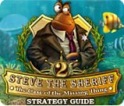 Steve the Sheriff 2: The Case of the Missing Thing Strategy Guide game
