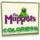 The Muppets Movie Coloring game