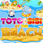 Toto and Sisi At The Beach game