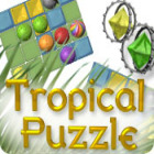 Tropical Puzzle game