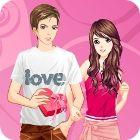 Valentine Dressup game