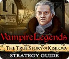 Vampire Legends: The True Story of Kisilova Strategy Guide game
