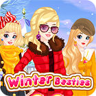 Winter Besties Dress Up game