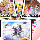 Winx Club Spin Puzzle game