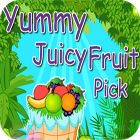 Yummy Juicy Fruit Pick game