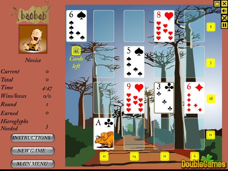Click to view Baobab Solitaire 1.0.EN screenshot