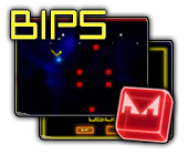 Bips! game on FaceBook