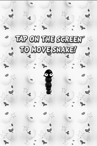 Black And White Snake Screenshot 1