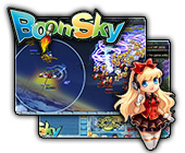 BoomSky game on FaceBook