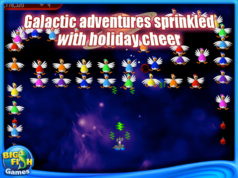 Chicken Invaders 2: The Next Wave Christmas Edition Screenshot 1