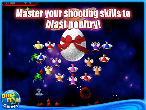 Chicken Invaders 2: The Next Wave Christmas Edition Screenshot 2