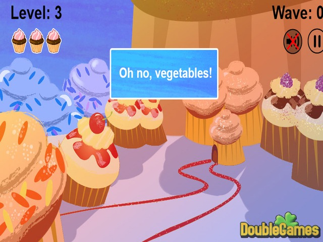 Cupcakes VS Veggies Screenshot 2