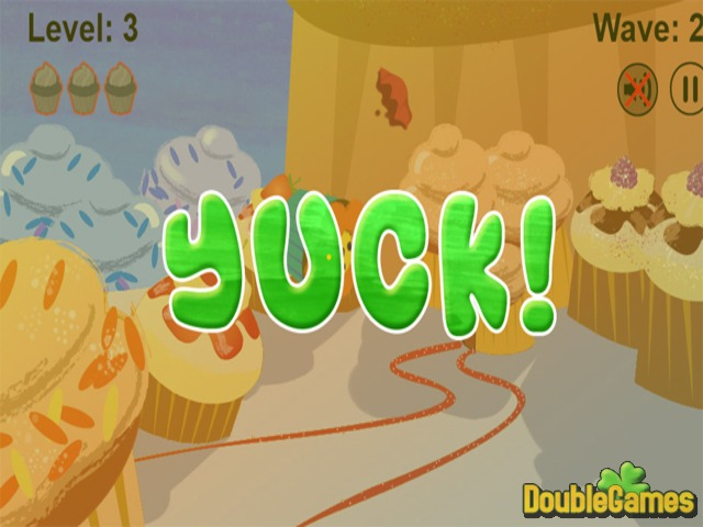 Cupcakes VS Veggies Screenshot 3