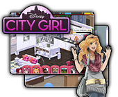 Disney City Girl game on FaceBook