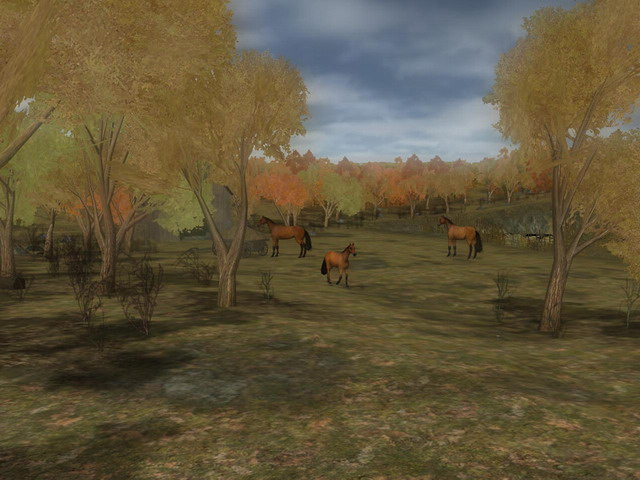 Click to view Thanksgiving Promenade 3D 1.1 screenshot