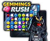 Gemmings Rush game on FaceBook