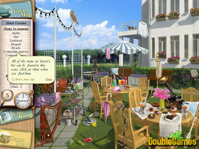 agatha christie peril at end house game free download