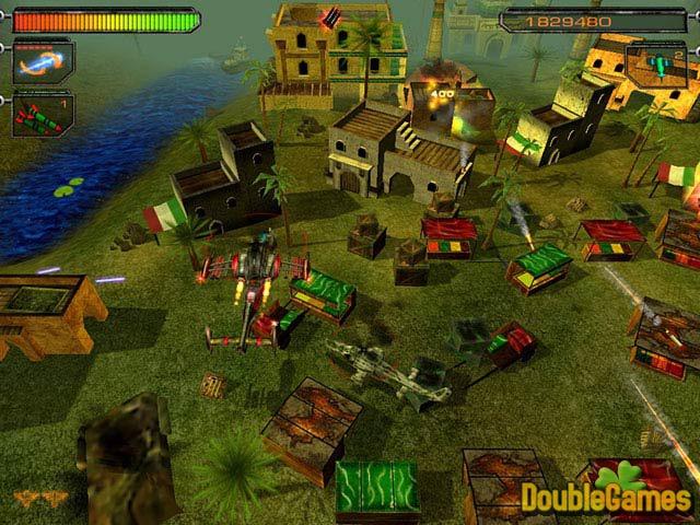 Free Download Air Strike II Gulf Thunder Screenshot 2