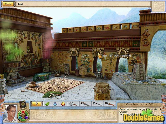 Скриншот к мини игре Алабама Смит и кристаллы судьбы. все игры для мальчико