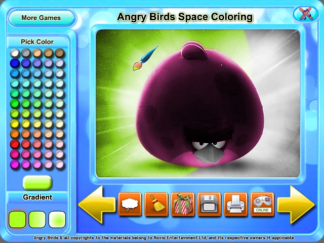 Angry Birds Space Coloring Pages Amazing Picture Coloring Book