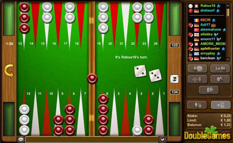 Free Download Backgammon Screenshot 1