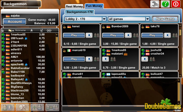 Free Download Backgammon Screenshot 2
