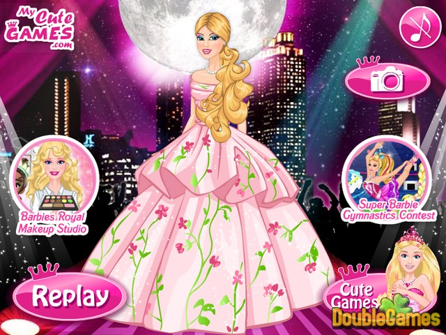 Barbie A Fashion Fairytale Online Game