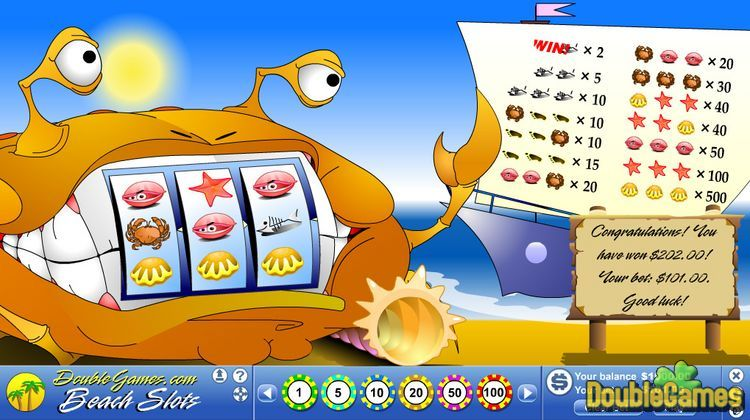 Screenshot of Beach Slots
