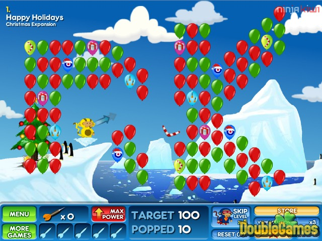 Free Download Bloons 2: Christmas Pack Screenshot 3
