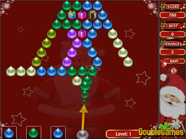 Bubble Shooting: Christmas Special Online Game