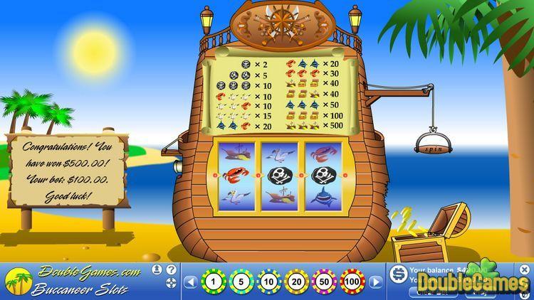 Screenshot of Buccaneer Slots