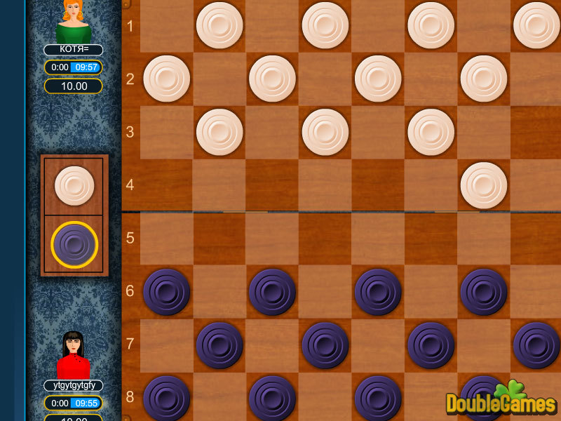 Online checkers game multiplayer