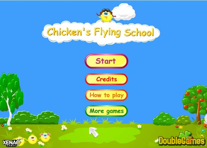 Free Download Chicken's Flying
