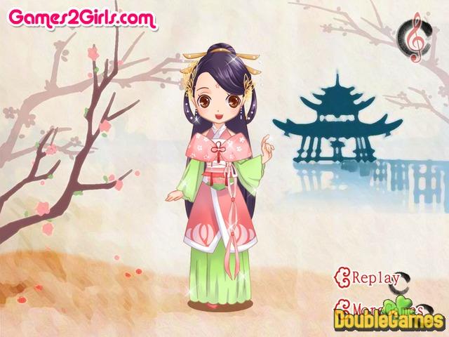 ... Free Download Chinese Doll Dress Up Screenshot 3