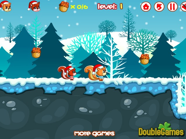 Free Download Christmas Squirrel Screenshot 3