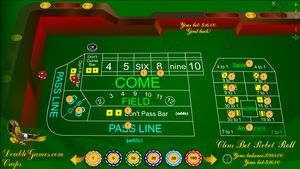 Classic Craps is one of the more exciting games played in casinos today. It is one of the few truly social games and one of the few played with dice. Classic Craps with its excellent graphics, pleasant music and huge winnings is waiting for you!