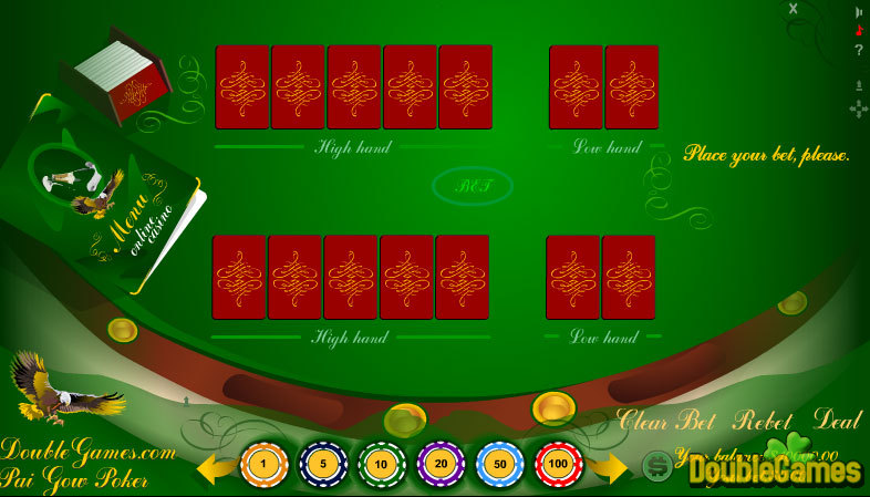 Free Download Classic Pai Gow Poker, Play Classic Pai Gow Poker Online