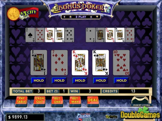 Video Poker - Over 2 Versions for free play - MrGamez