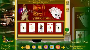 Prepare yourself for huge fun and huge wins with Classic Videopoker!