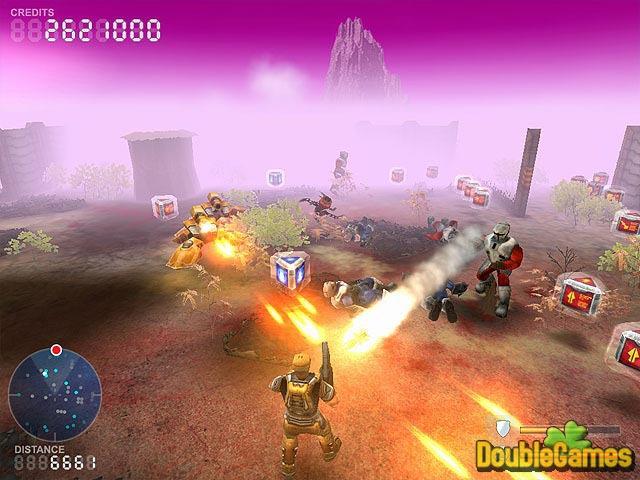 Free download Devastation Zone Troopers screenshot. Бесплатные скачиваемые
