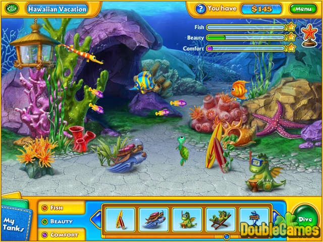 Superior ... Free Download Fishdom Aquascapes Double Pack Screenshot 2 ...