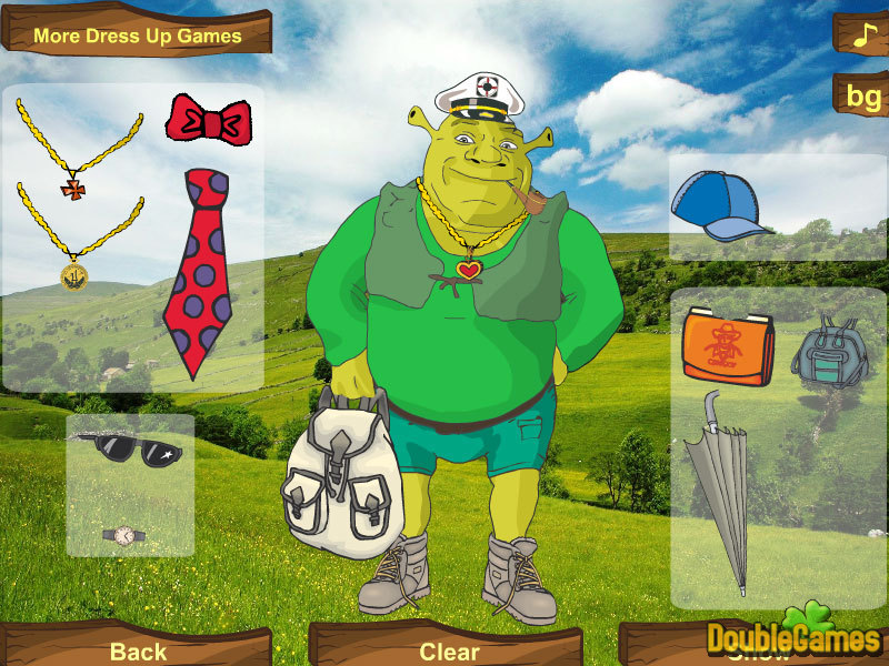 Dress Shrek 4 Party Game Download for PC