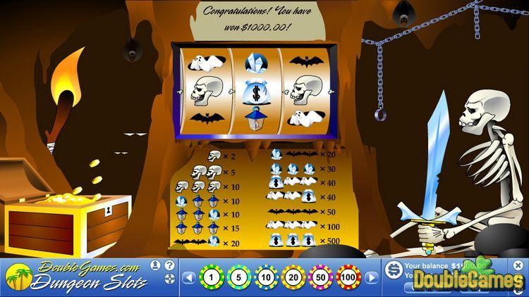Screenshot of Dungeon Slots