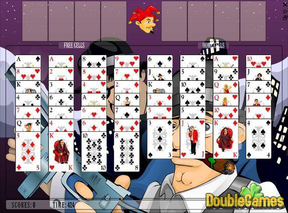 Screenshot of Elite Freecell