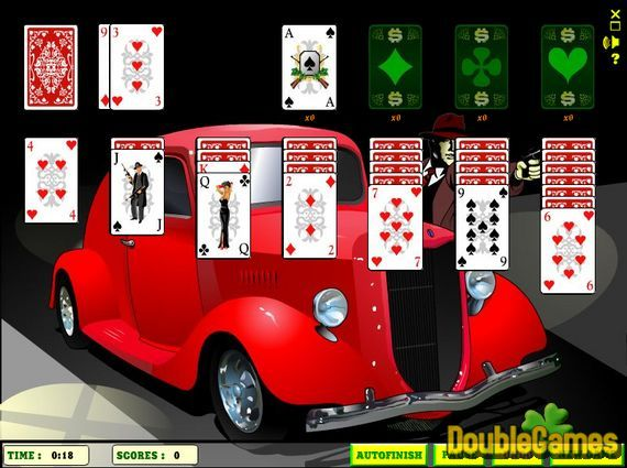 Screenshot of Elite Solitaire