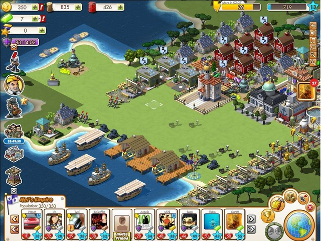 Old facebook games: zynga's empires & allies youtube.