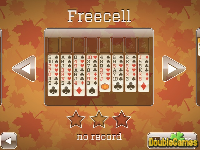 Free Download Fall Solitaire Screenshot 2