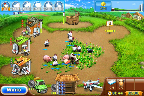 Free Download Farm Frenzy 2 game for iPad & iPhone
