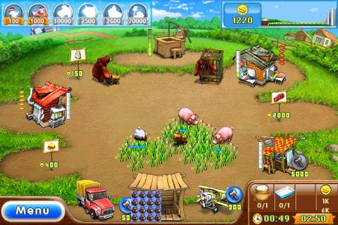 العاب farm frenzy '1,2,3'