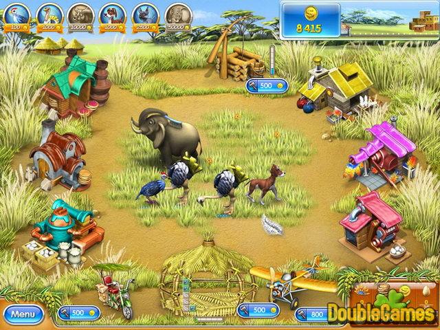 Free Download Farm Frenzy 3: Madagascar Screenshot 1